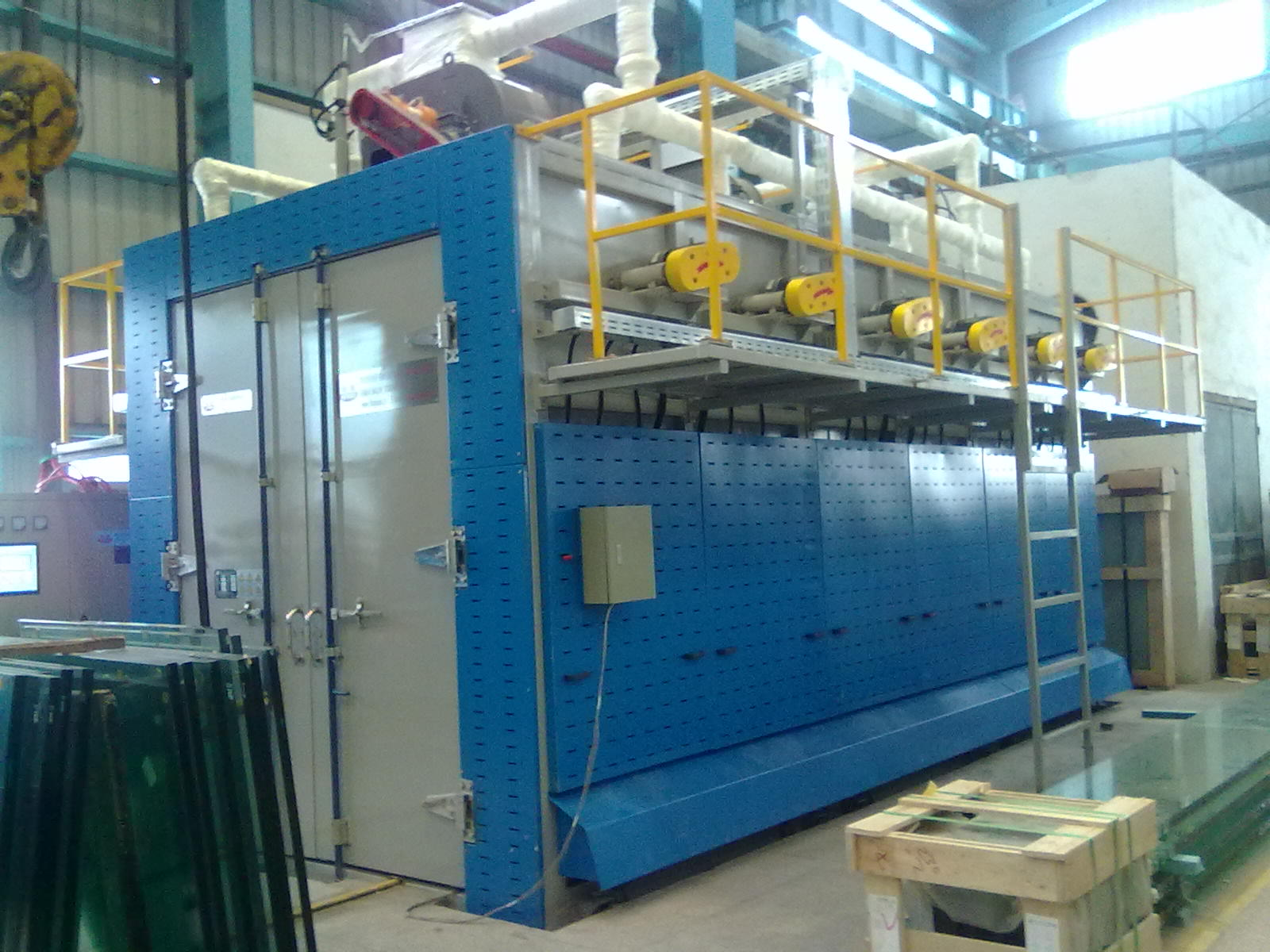 Glass Mosaic Cutting and Breaking Process Line