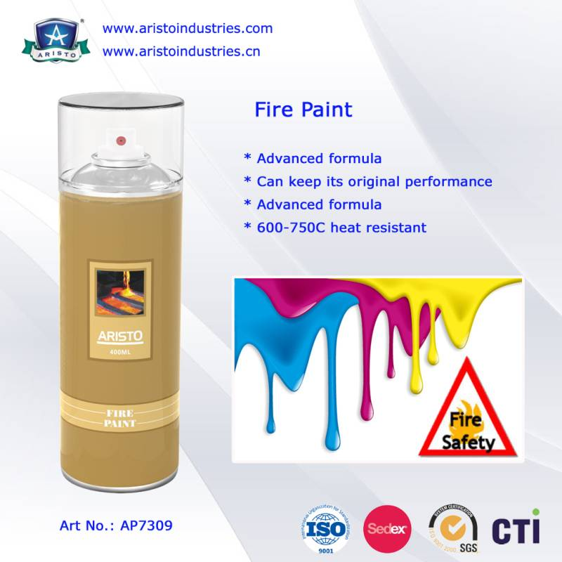 High Heat Resistant Spray Paint / Fire Paint