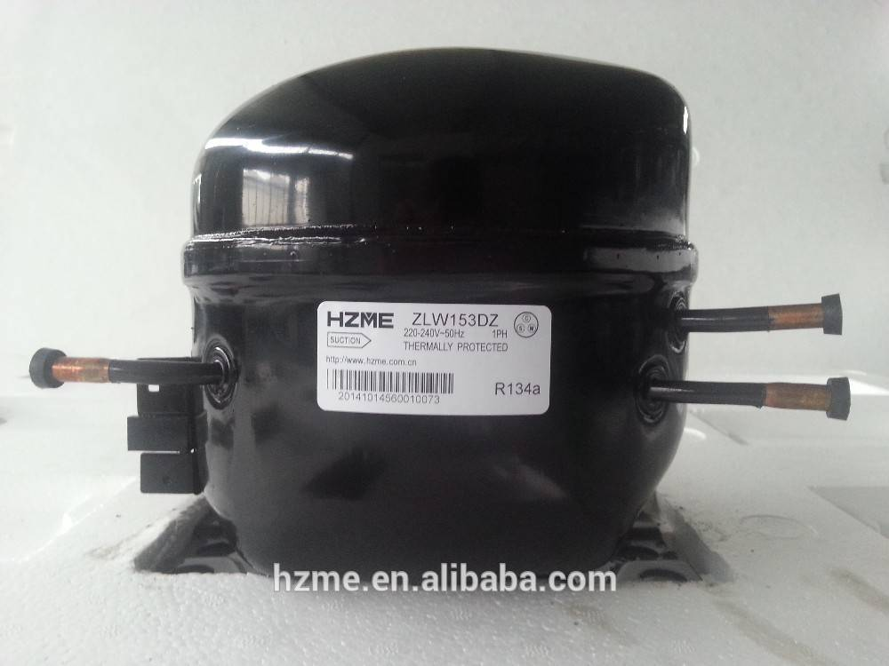 R134a refrigeration compressor LBP 2/5 HP 220-240V/50HZ 390W cooling capacity for refrigerator