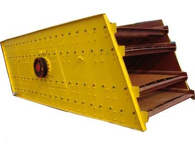 placed vibrating screen
