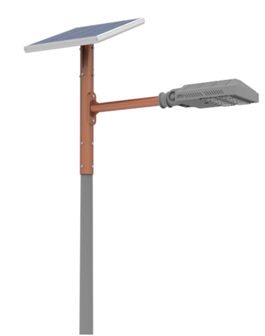 Apollo split solar LED street lights solar system fixture