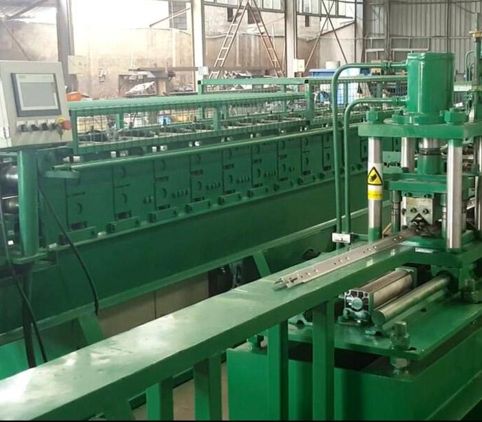 Storage shelf roll forming machine for sale
