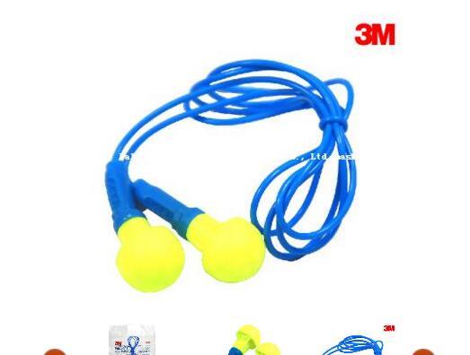 3M E-A-R Push-Ins Corded Earplugs