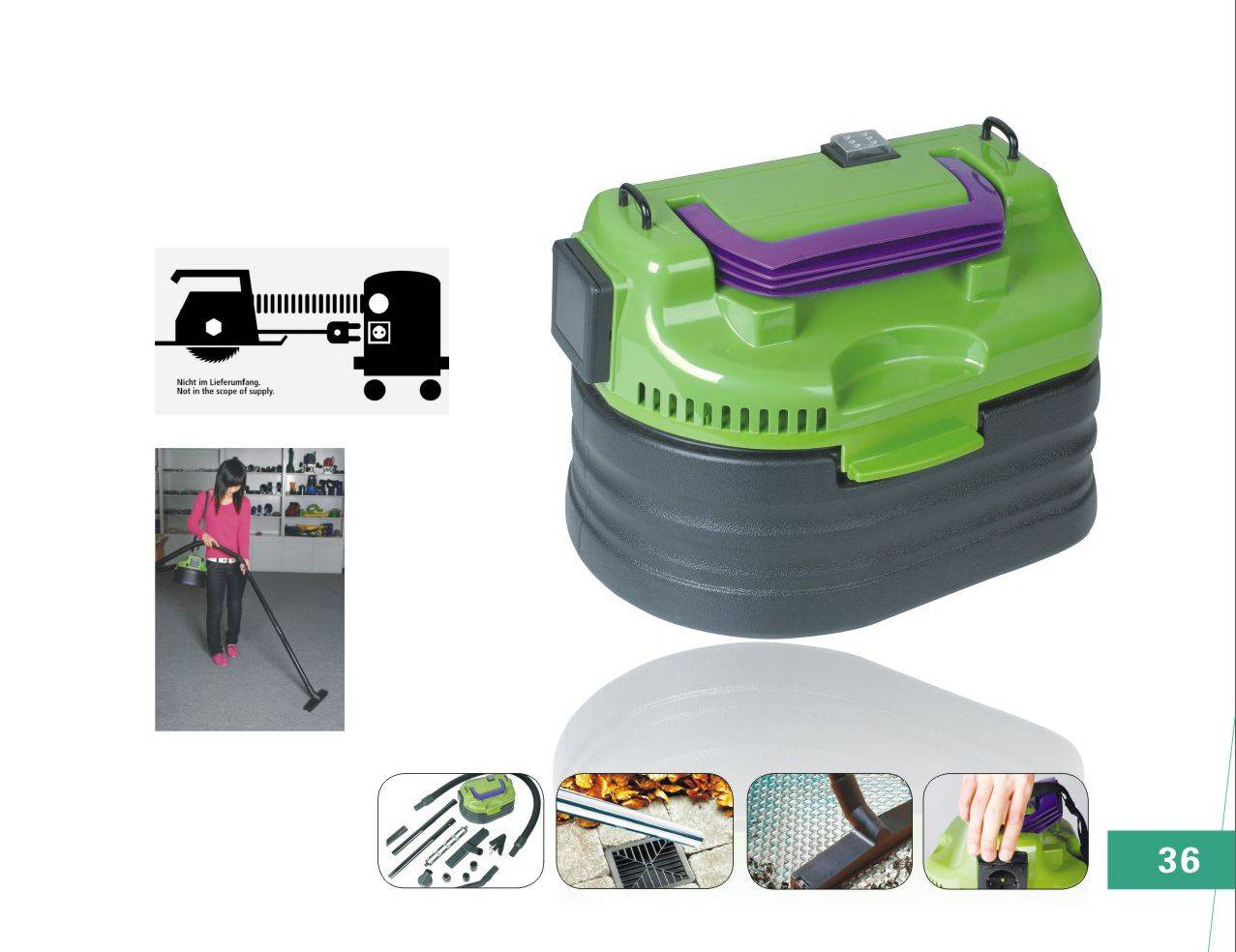 Portable Cleaner JL-T0801