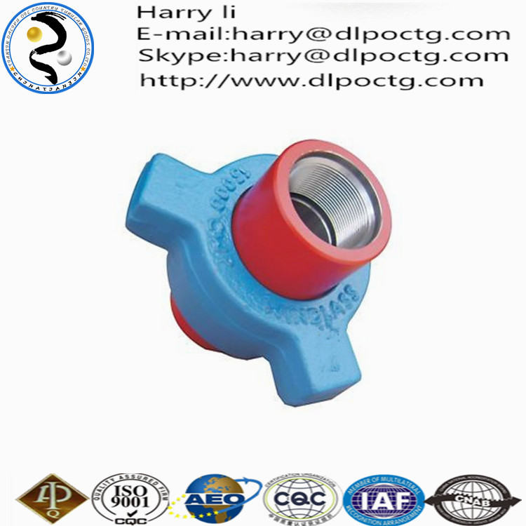 Oil casing manufacturers products steel pipe fittings hammer union