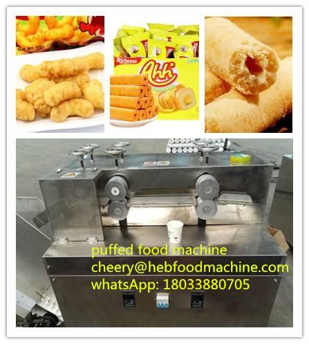 good quality small scale puffed food machine