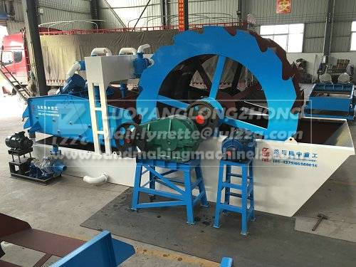 Construction waster sand extraction machine
