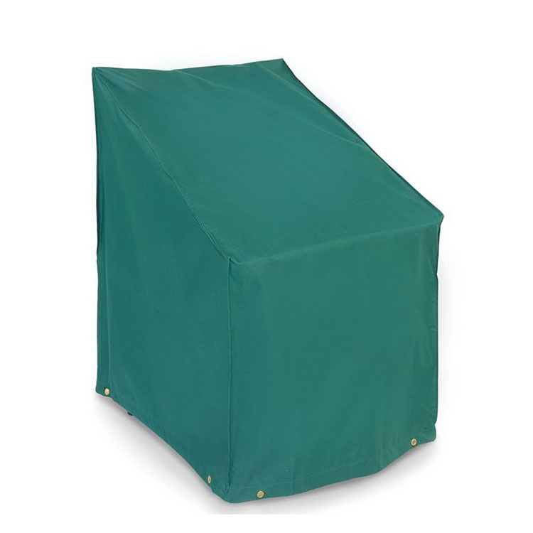 Waterproof patio outdoor garden furniture green stacking chair cover