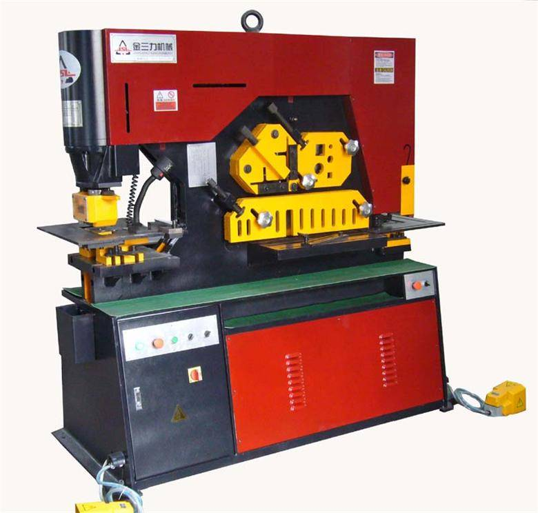 DIW-90E/L hydraulic Ironworker
