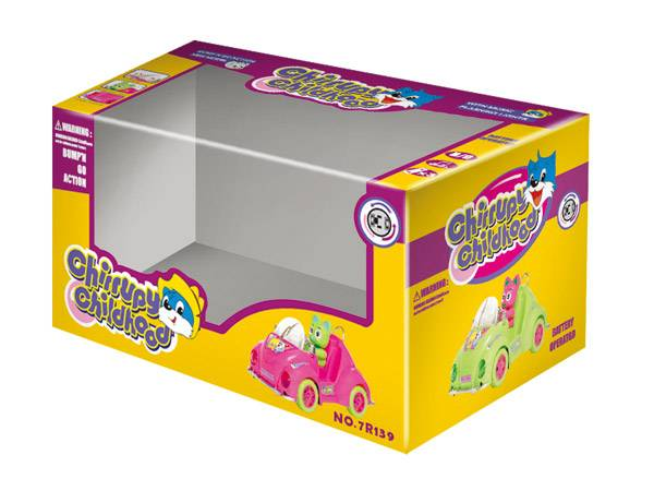 Toys Gift Package Box with clear PET window