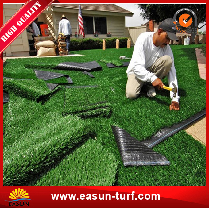 Cheap Fake Artificial Plastic Lawn Grass Turf for Garden-MY