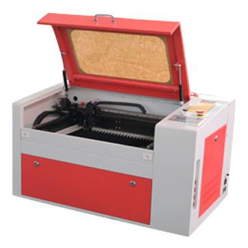 Hot sale CO2 laser wood acrylic paper engraver cutter, 300*500mm