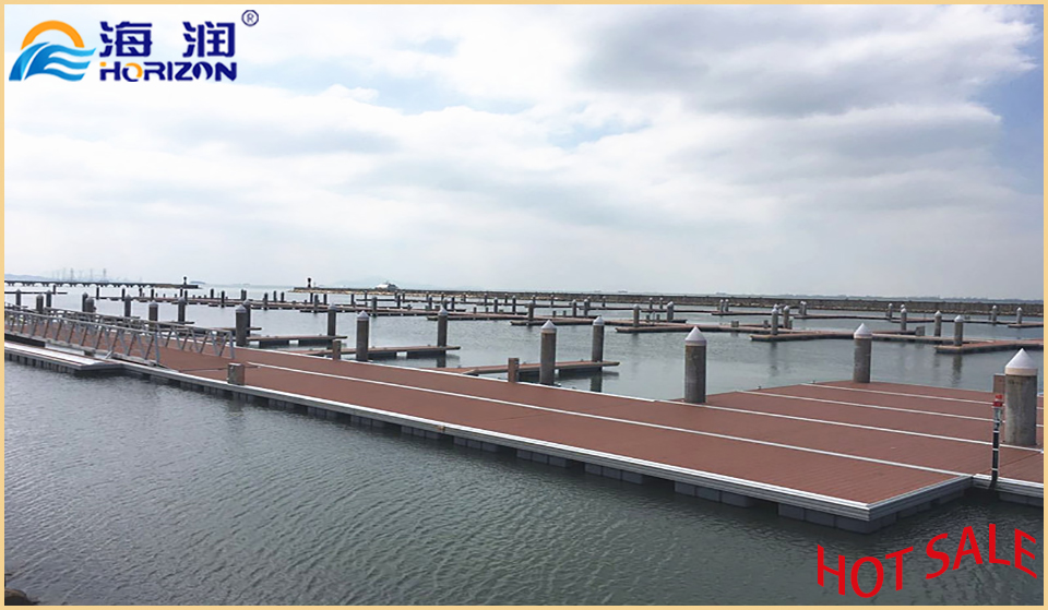 High Qualityreinforcement Galvanized Steel Floating Dock Pontoon