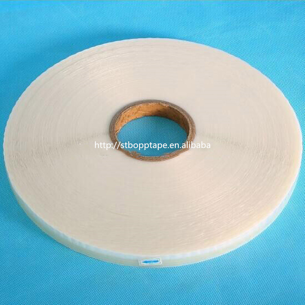 self adhesive Middle Glue BOPP Resealable Adhesive Tape to Sealing Bags
