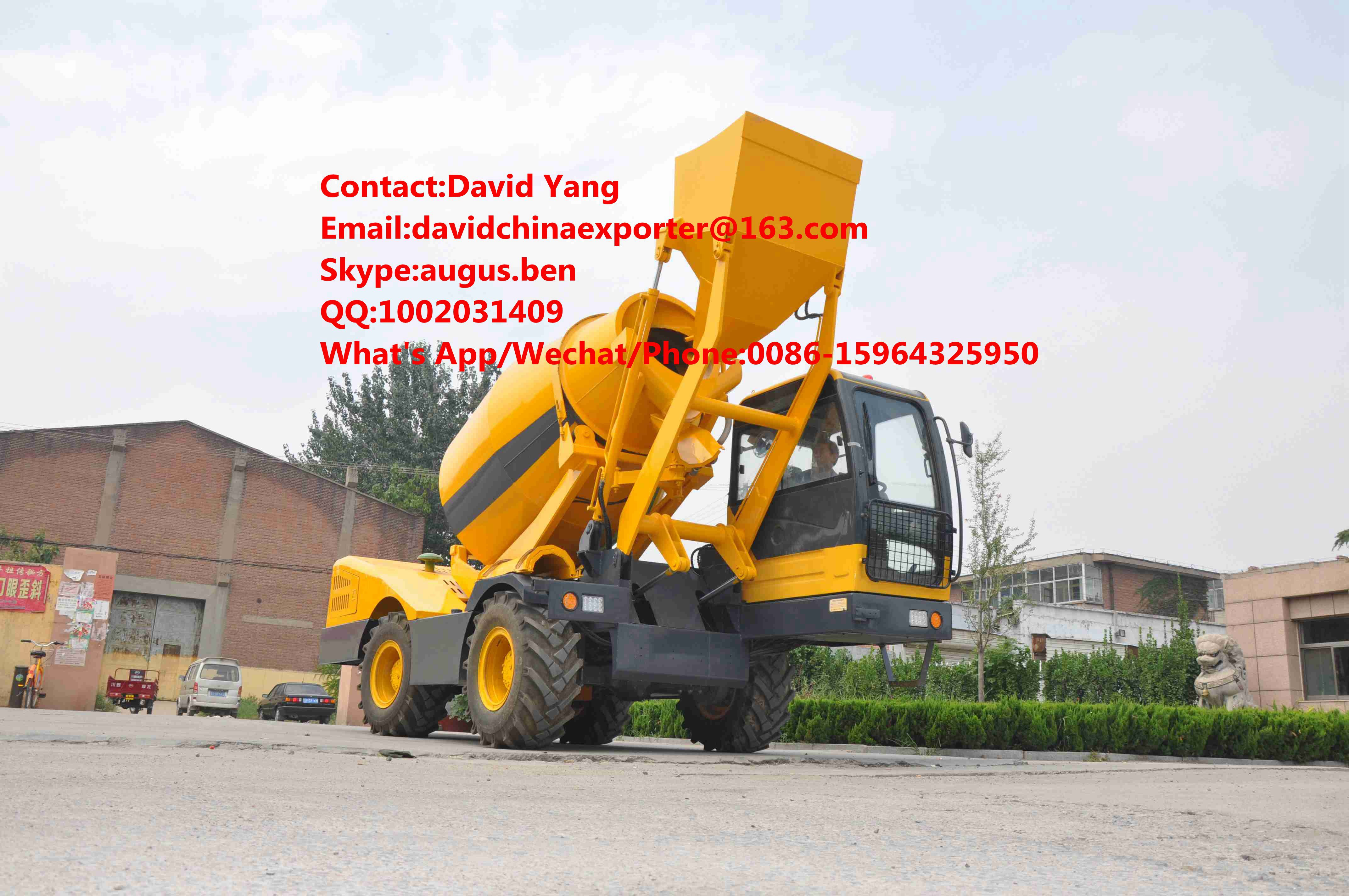 3.5 M3 concrete Mixer Vehicle for sale