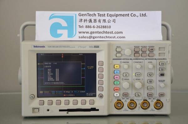 Tektronix TDS3014B 100 MHz 4-Ch Digital Phosphor Oscilloscope