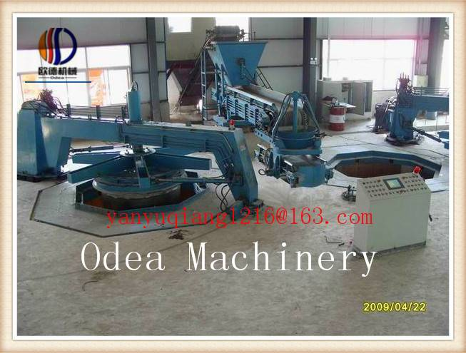 Full-Automatic Pipe Making Machine for the Concrete Jacking Pipes with Steel Collar