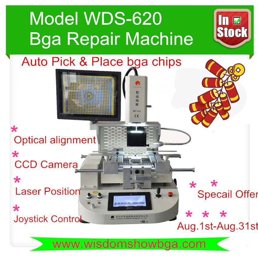 Best Feedback 110V/220V bga rework machine WDS-620 automatic playstation 4 motherboard repair tools