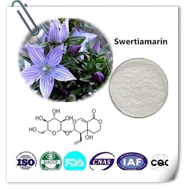 Swertiamarine  98% HPLC CAS NO:17388-39-5 10g/bag