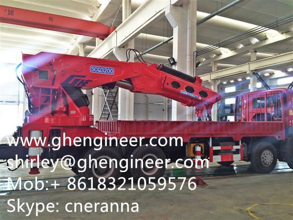 Truck Mounted Crane-Telescopic Boom Cran