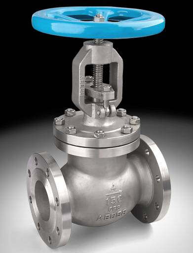 globe valve rising stem flange end