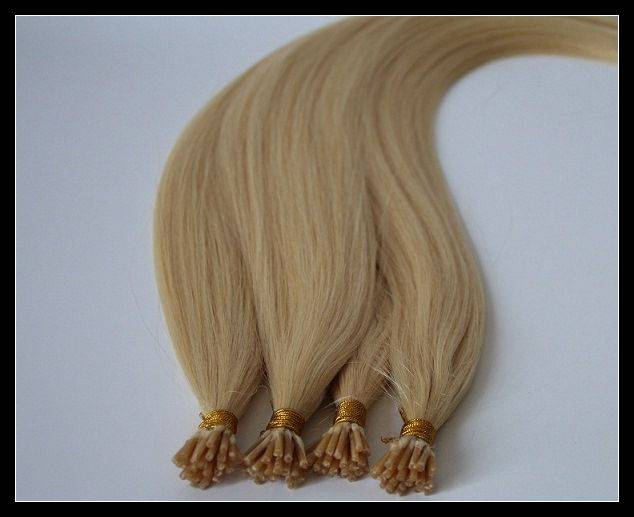 100% human hair Pre-bond hair/I-tip, U-tip, flat tip