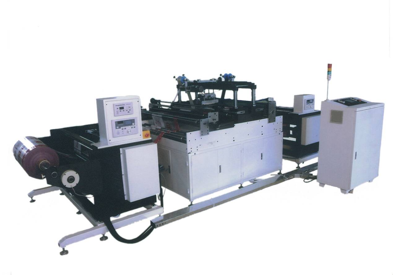 TJ-97 auto non woven bag hot foil stamping machine roll to roll