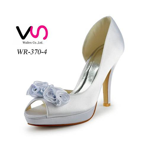 10cm heel high with platform nice women bridal shoes for wholesale