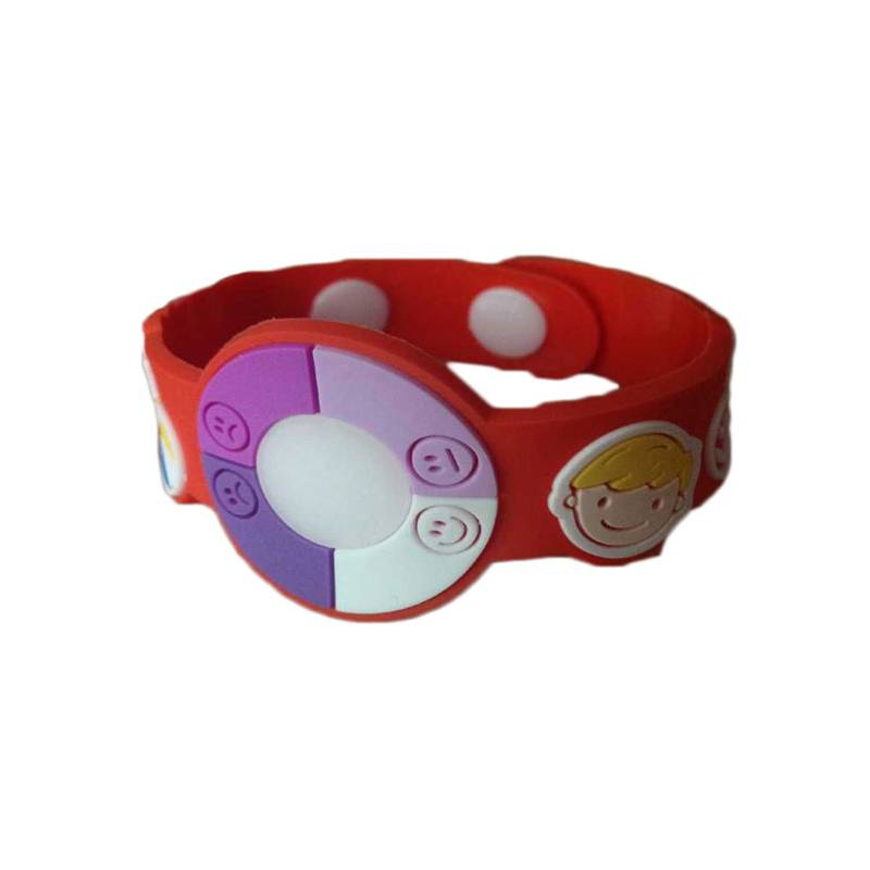 pvc material gifts uv tester watch for children