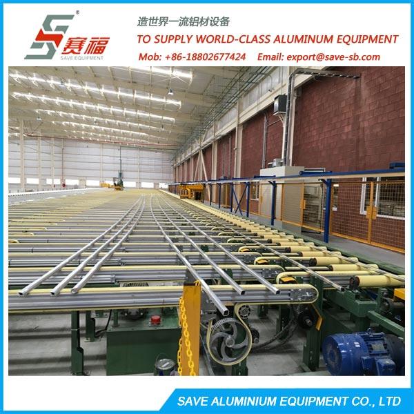 aluminium extrusion automatic profile handling system