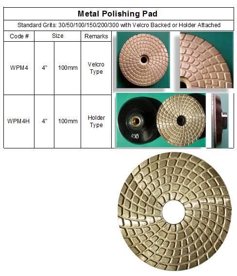 Metal Polishing Pad ~ Genuine Metal Polishing Pad