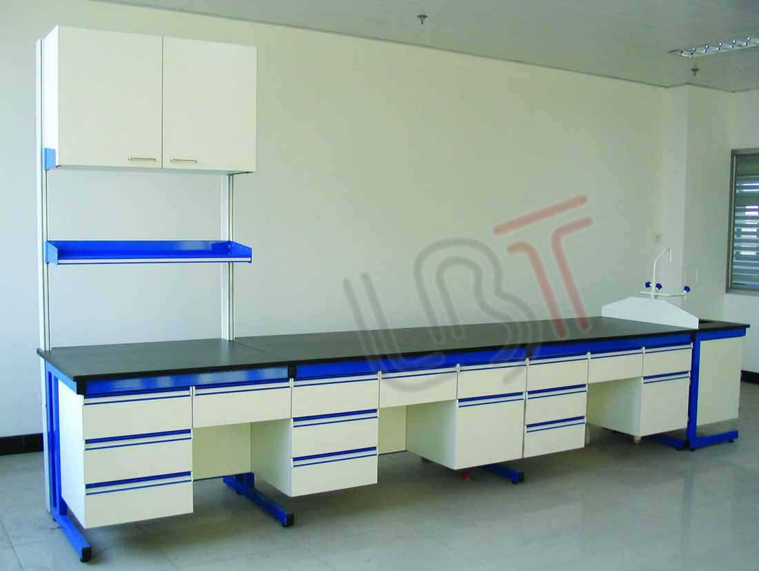 Steel and Wood laboratory bench