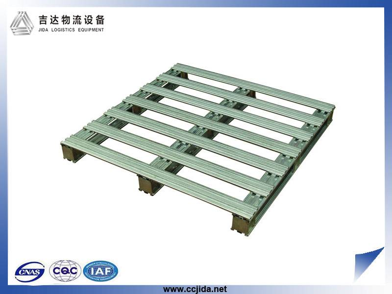 Four Ways Entry Steel pallet