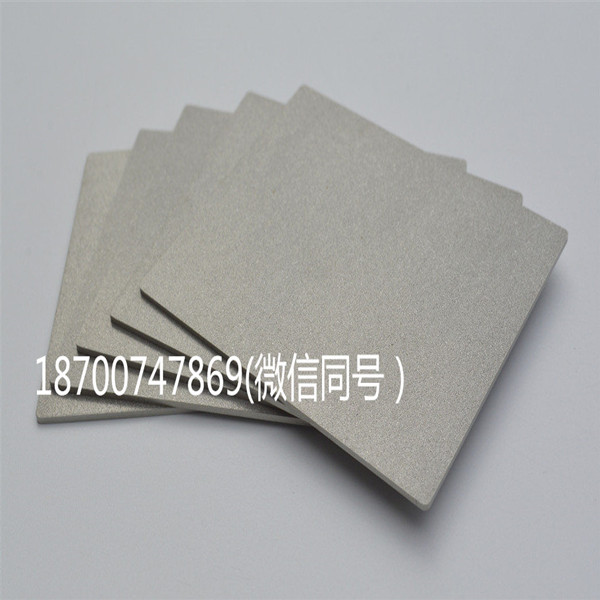 Factory Price Customizable Porous Titanium Sinter Metal Fiber Felt Cartridge Disc
