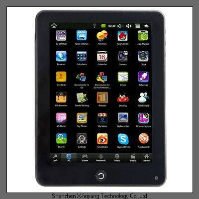 """2011 best sale 8"""" inch tablet pc"""