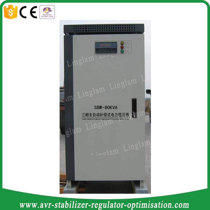 voltage stabilizer 80 kva