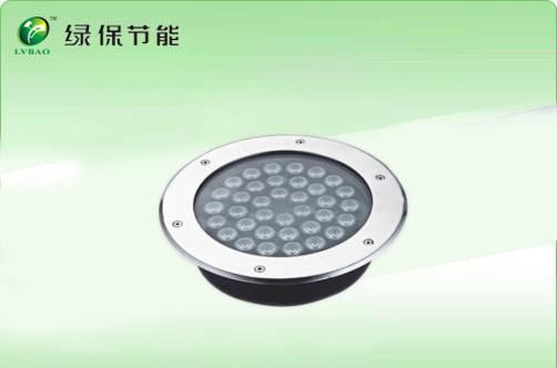 toughened glass LED undergound lamp 9W,6W