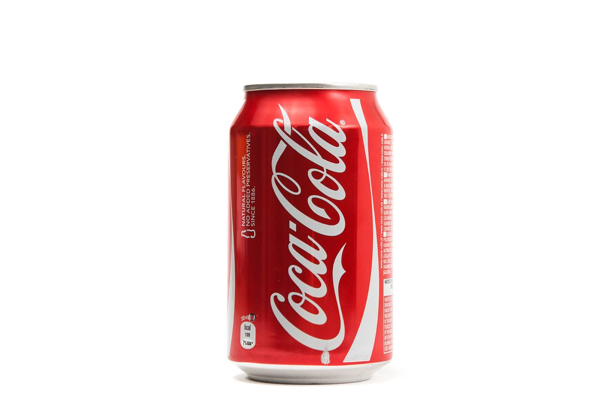 COCA COLA (GB) CANS 330ml