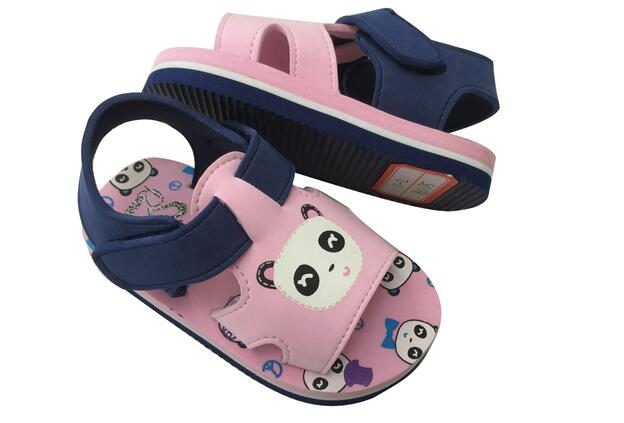 Cute Design Girls Comfortable Eva Sandals Kids Slippers