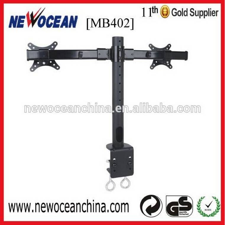 Contractile and Extension dual arm monitor desk stand LCD mount -----MB402