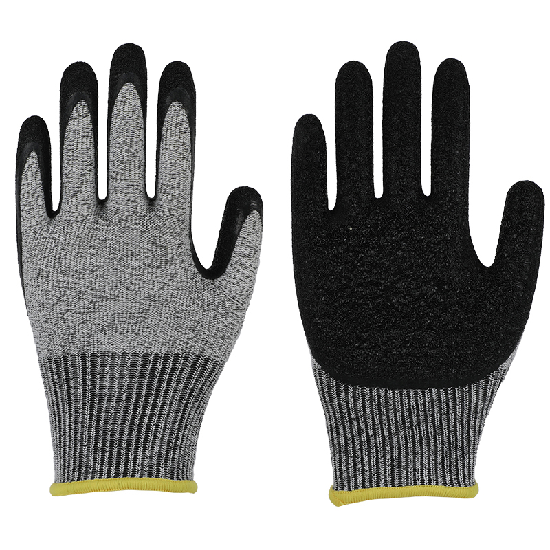 latex coated safety working gloves,factory direct price