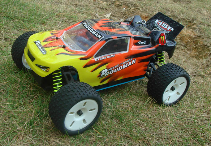 1:16 4WD Nitro Radio Control RC Off Road Truggy Car 'Proudman'