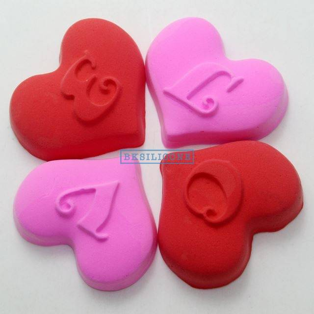 Love Heart Shaped Silicone Molds Fondant Cake Chocolate Molds Cake Decorating AB006