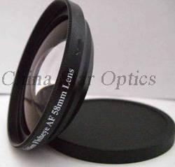 37mm 0.42X fisheye conversion lens for cameras