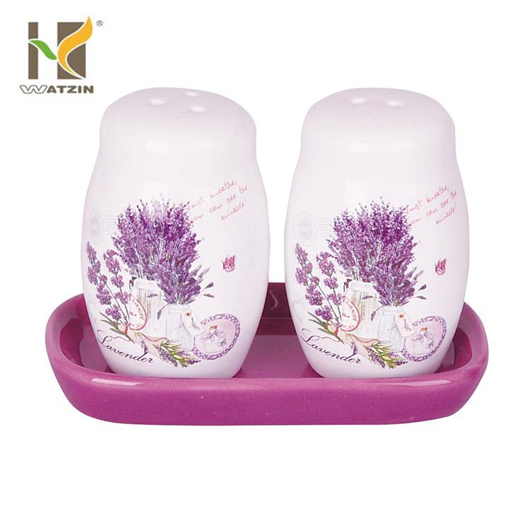 wholesale cheap ceramic salt & pepper shakers