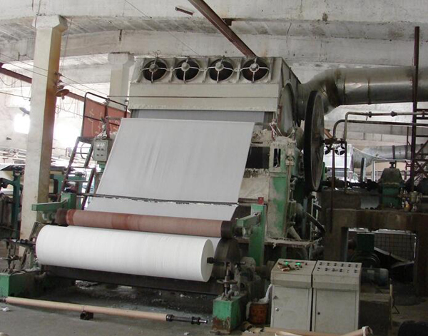 Waste Paper Recycling Jumbo Roll Small Toilet Paper Facial Tissue Making Machine Price