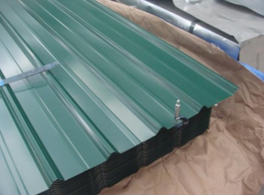 Zinc corrugated steel sheet roof price/color coated galvanized corrugated steel sheet/wave tile roof