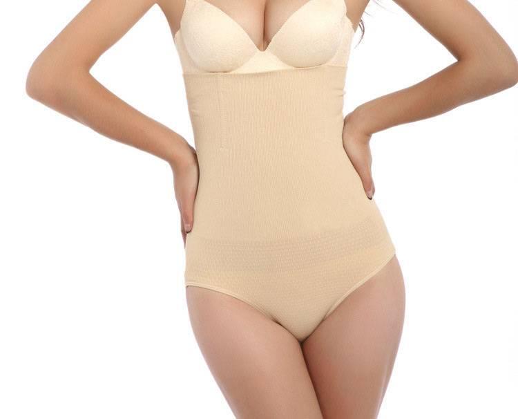 2016 Women's Seamless High Waist Control Brief with Bones, Shapewear, Girdle, Underwear, Lingerie