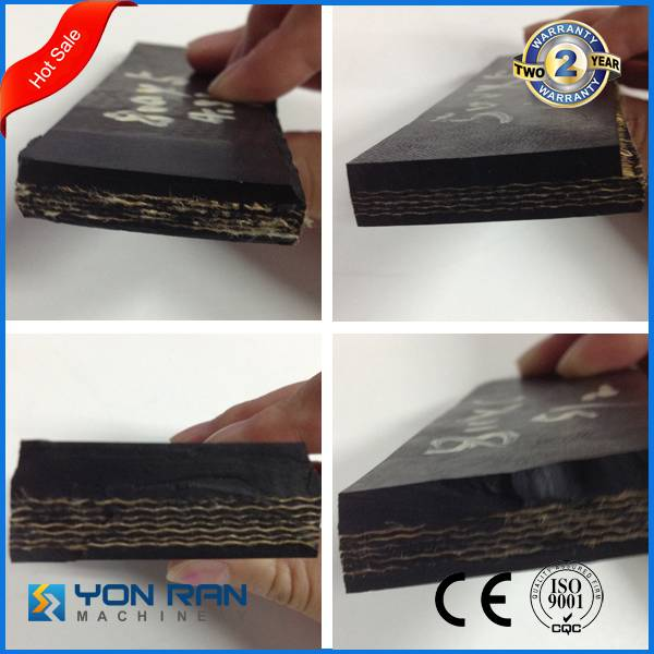 CE ISO certificate conveyor belt B1000 nylon rubber belt can be customized
