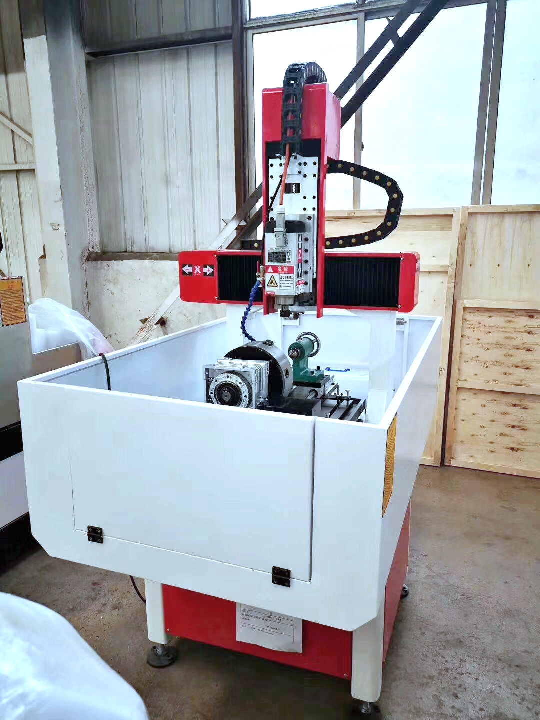 CE approved CA-4040 mini 3d metal cnc router/ granite engraving machine/cnc wood carving router